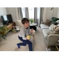 Ethan W's PE skills