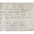 Eleni's gingerbread house description