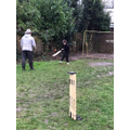 William doing the cricket session