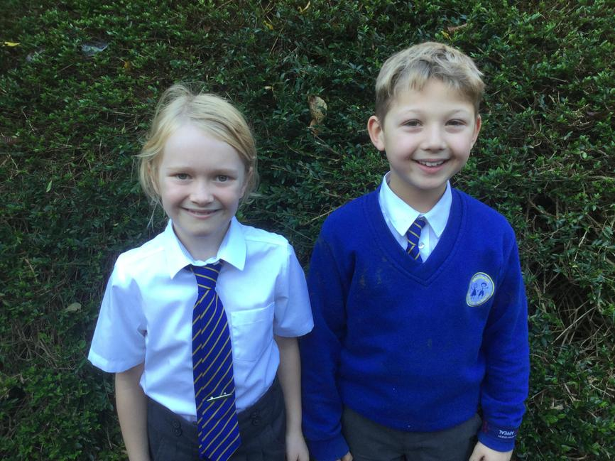 Connie & Jake.  Year 3 Reps