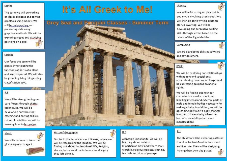 Year 4 It's All Greek To Me!