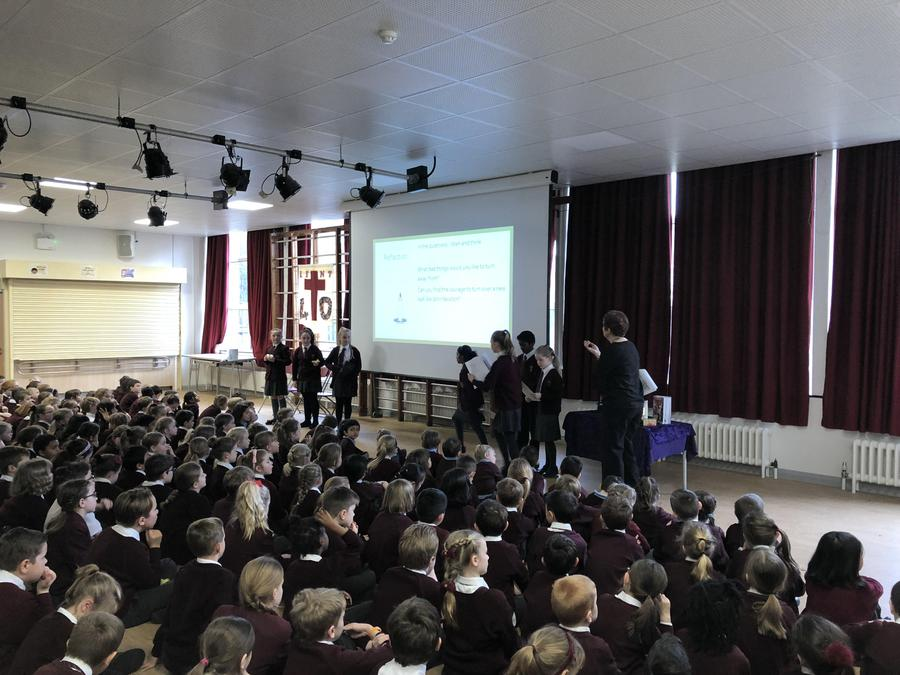 Pupil led worship March 2018