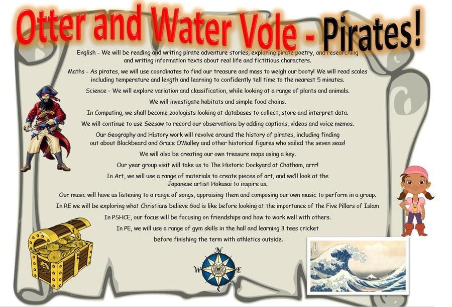 Year 2 Pirates
