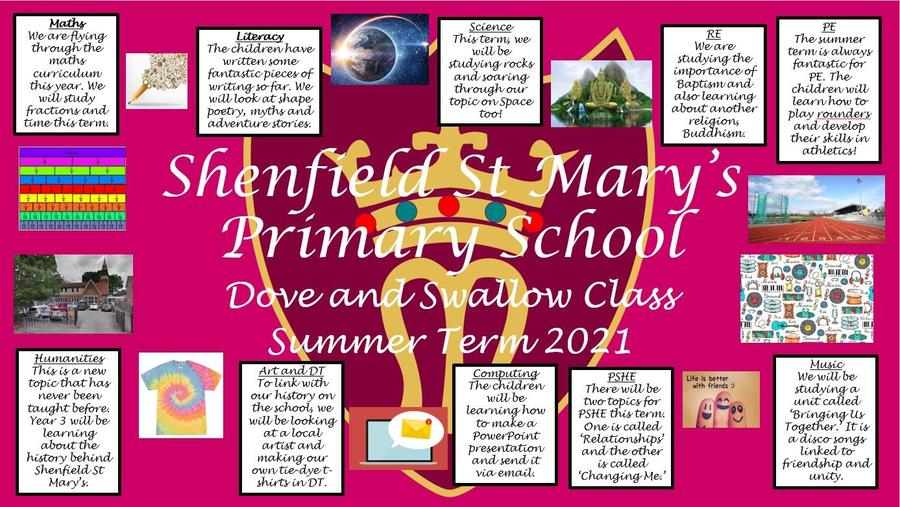 Year 3 Shenfield St Mary's Primary School
