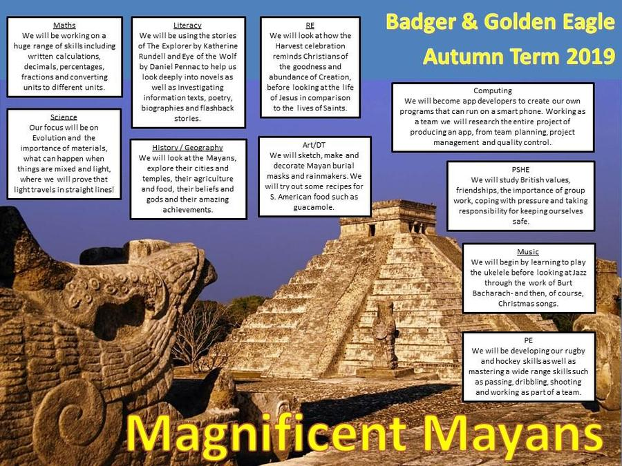 Year 6 Magnificent Mayans