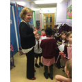 We interviewed Mrs Taggart
