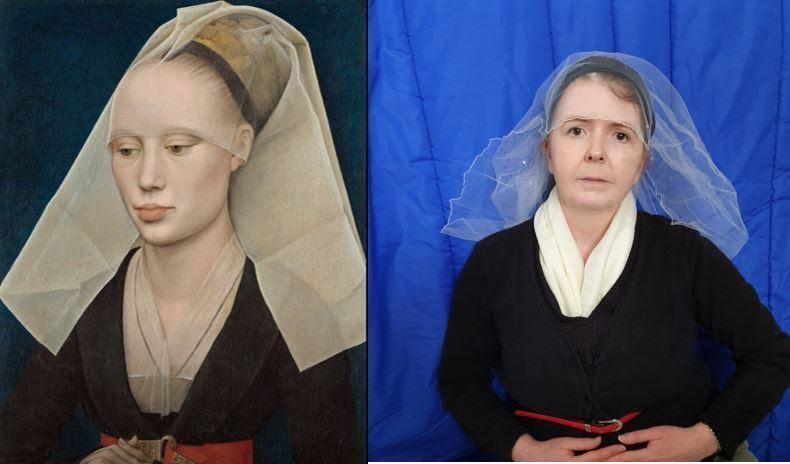 Portrait of a Lady  by Bogier Van Der Weyden