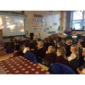 We enjoyed watch The Elf on the Shelf DVD.