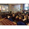 We enjoyed watch The Elf on the Shelf DVD.