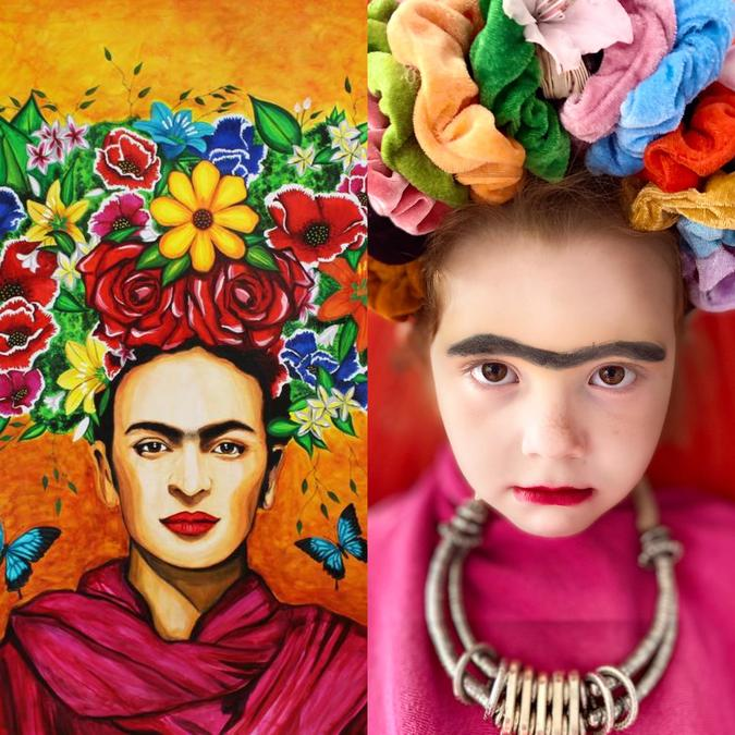 Frida Kahlo's self portrait