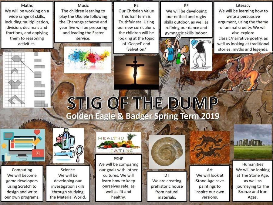 Year 5 Stig of the Dump