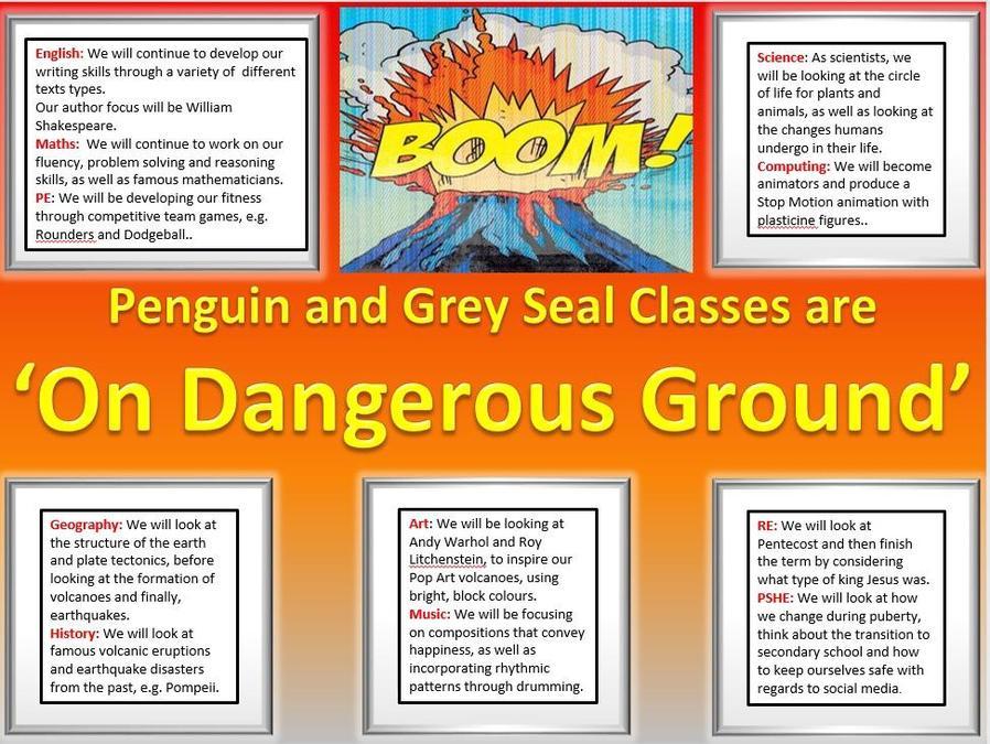 Year 6 On Dangerous Ground