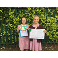 Well done girls! Super Head Teacher Awards for you