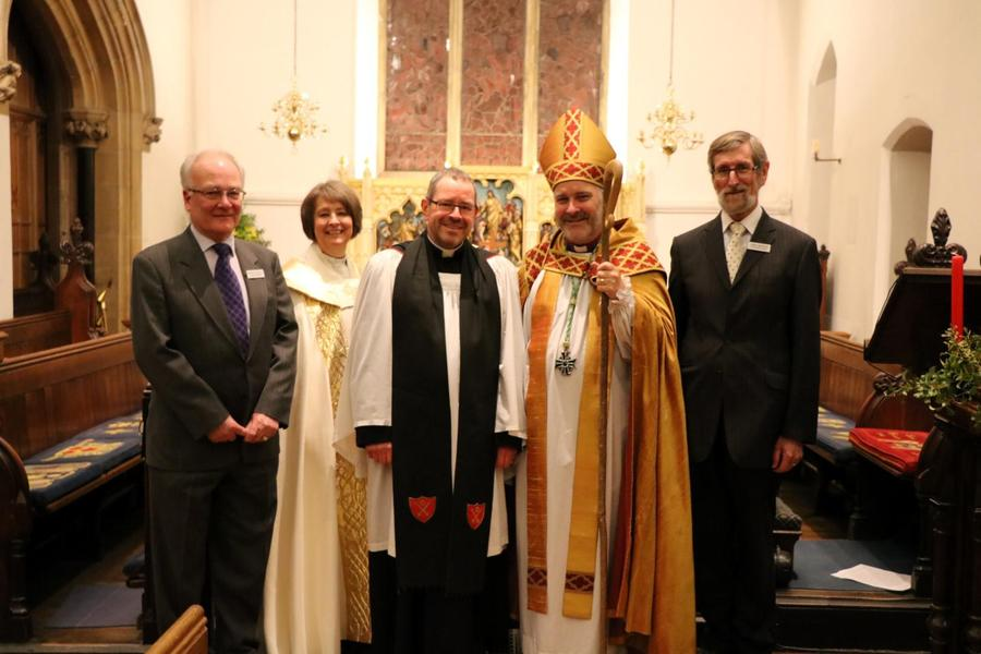 Father Chris Mann Licensed by Bishop Stephen