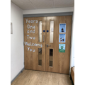 Entrance into Year 1 area