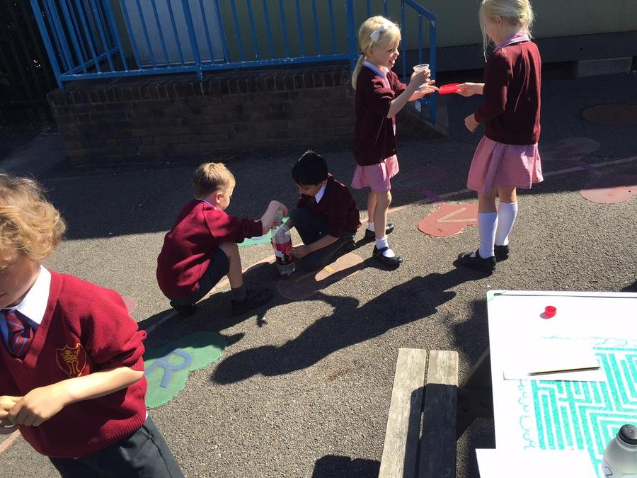 Maths - learning about capacity