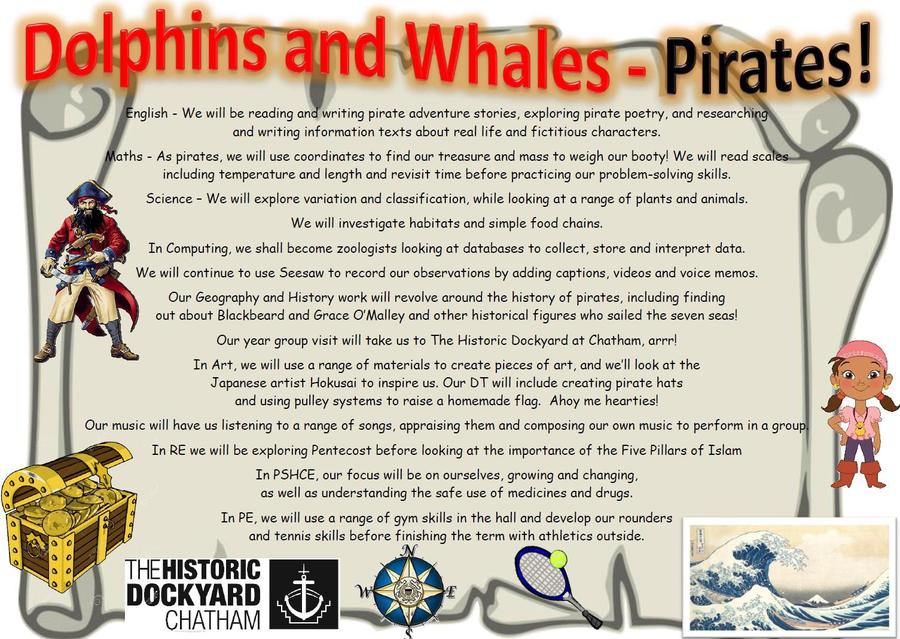 Year 2 Pirates!