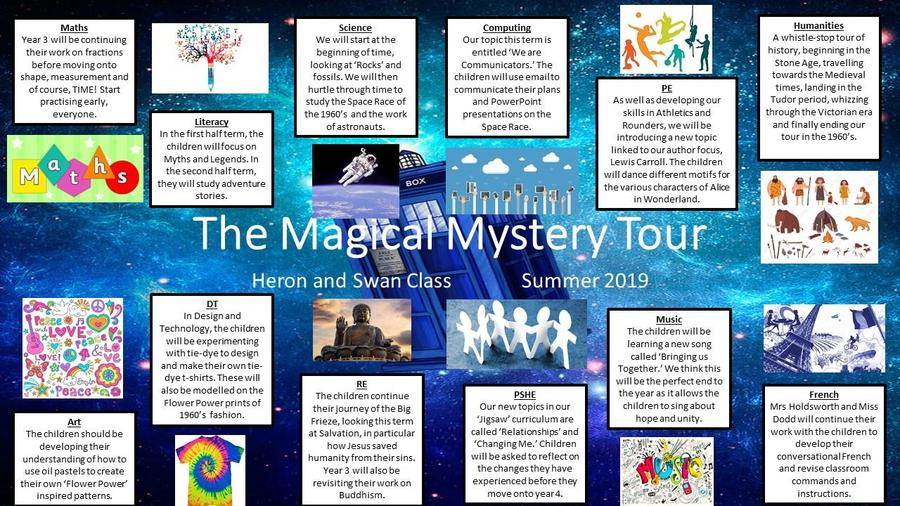 Year 3 The Magical Mystery Tour
