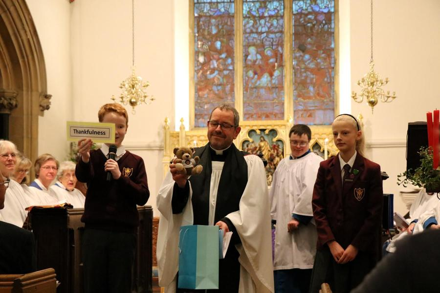 Father Chris Mann welcomed to Shenfield