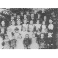 Shenington School circa 1904 (C) Nan Clifton