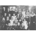 Shenington School circa 1907 (C) Nan Clifton