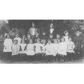 Shenington School circa 1920 (C) Nan Clifton