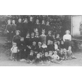 Shenington School circa 1914 (C) Nan Clifton