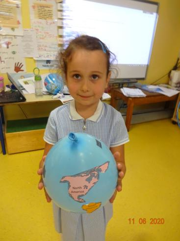 Anabella's balloon globe