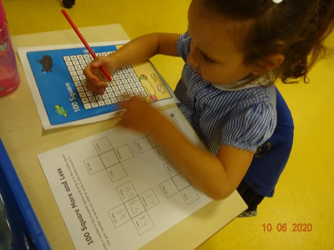 Anabella finding missing numbers