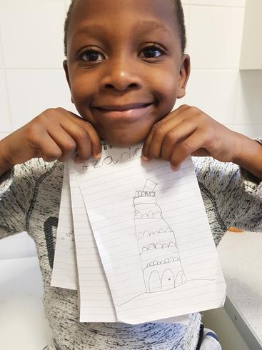Azariah's leaning tower of Pisa