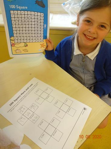 Sienna hunting for missing numbers