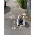 Darcy's Chalk Walk
