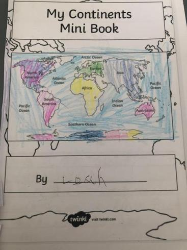 Leah's geography booklet