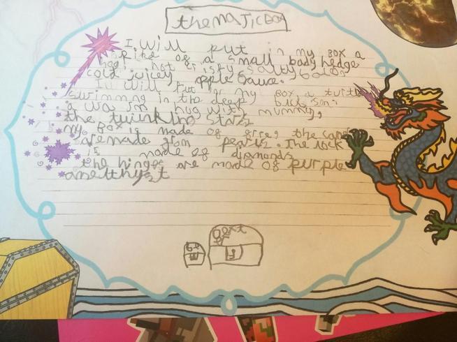 Dexter's magic box poem