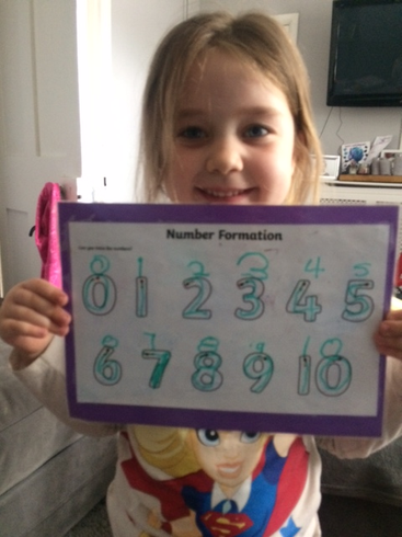 Brilliant number writing!