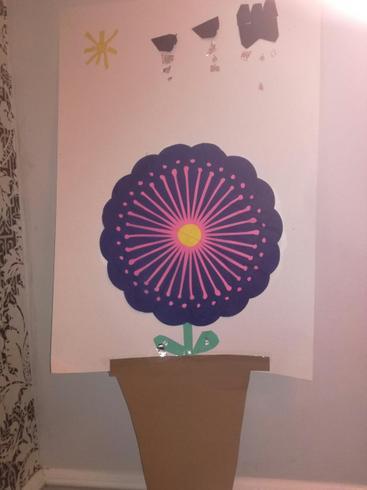 Dexter's flower collage