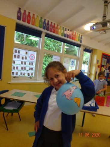 Angie's balloon globe