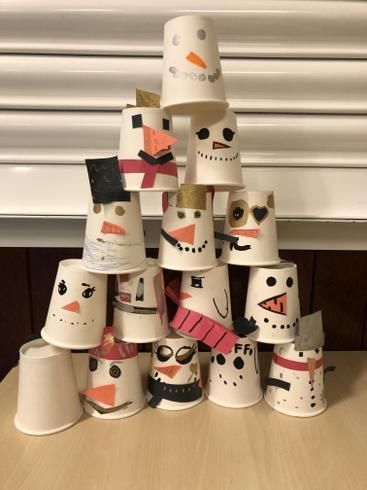 'Snowman Bowling'