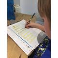 Practising Spellings