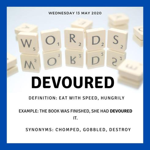 Word of the Day Wednesday
