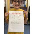 Missing Tiddler Poster