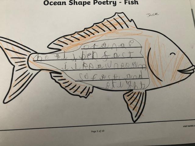 Jack's shape poem