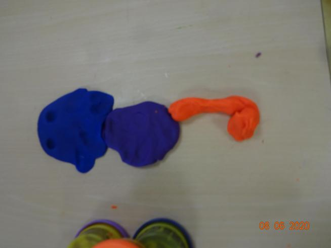 Taya's seahorse