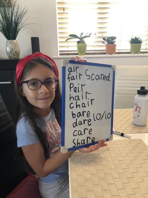 Bella's spellings
