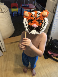 Spencer is the tiger who came to tea