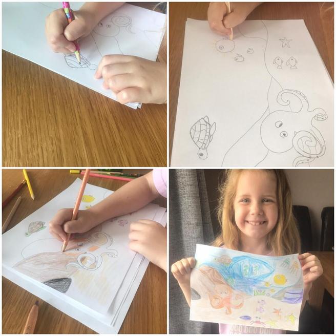 Pippa's drawing