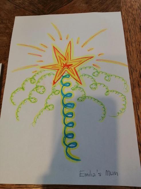 Emilia's mum (Izabela) wand design