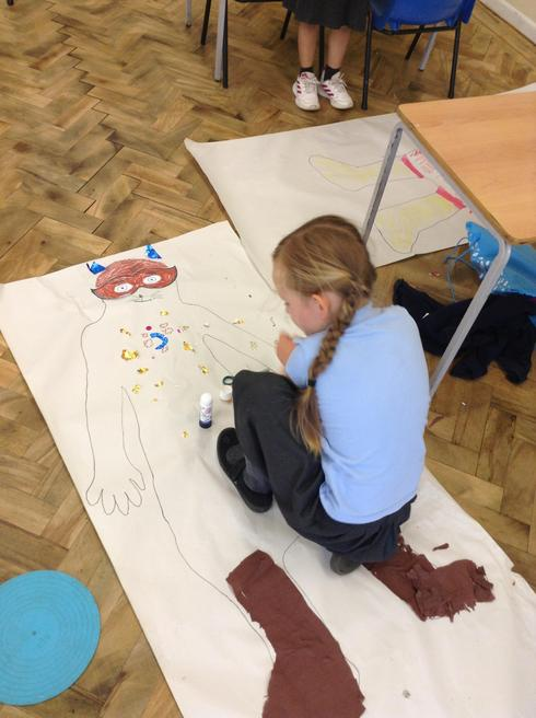 Creating our own life size superheroes