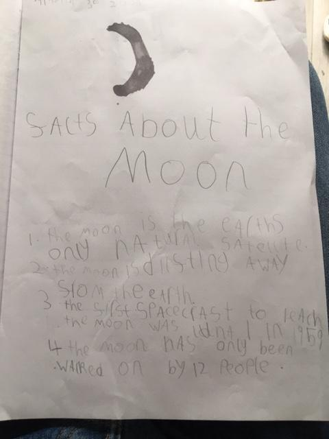 Amelia's writing