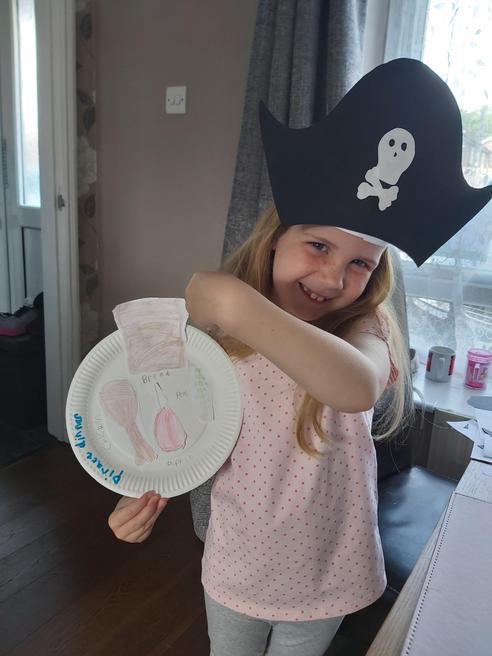 A pirate dinner